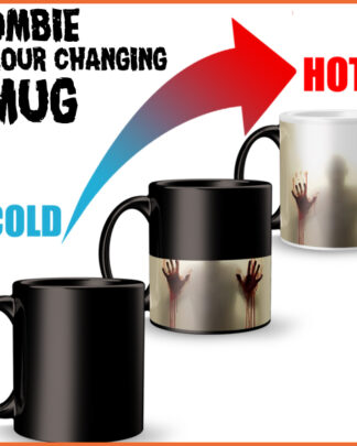 Walking Dead Zombie colour changing magic mug