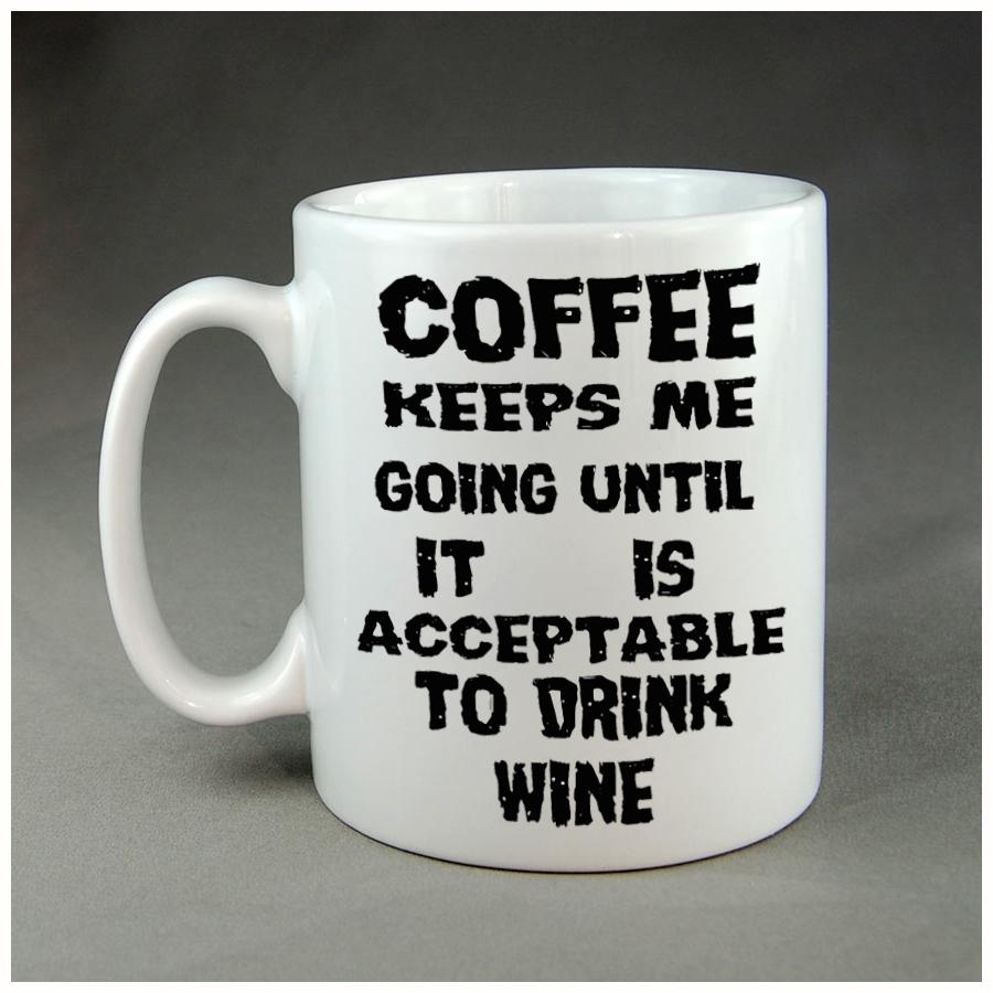 Coffee keeps me going coffee mug