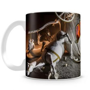Banksy Cinderella Carriage coffee Mug