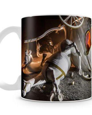 Banksy Cinderella Carriage coffee Mug