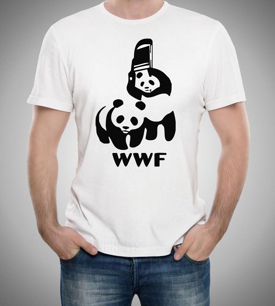 Wwf Panda T Shirt Mugman