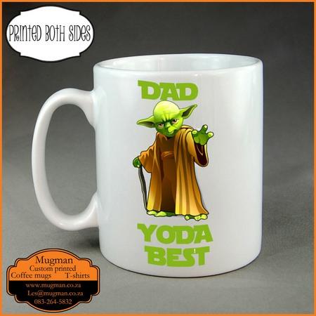 Yoda best Dad coffee mug
