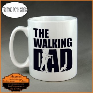The walking Dad coffee mug Fathers day gift
