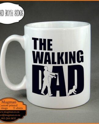 The walking Dad coffee mug Fathers day gift