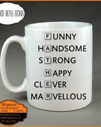 father scabble words coffee mug fathers day mug