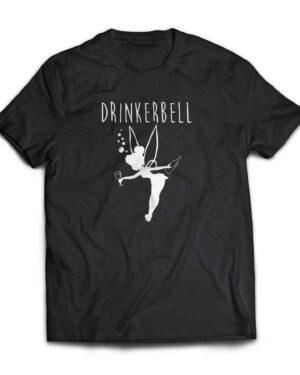 Drinkerbelle 180g cotton tshirt , custom printed T-shirts