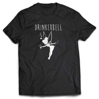 Drinkerbelle 180g cotton tshirt , custom printed T-shirts