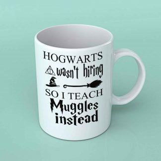 Hogwarts wasn't hiring coffee mug