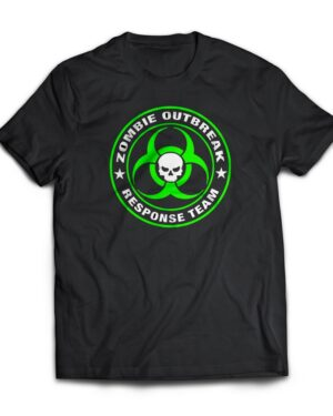 Zombie outbreak response team 100% cotton T-shirt