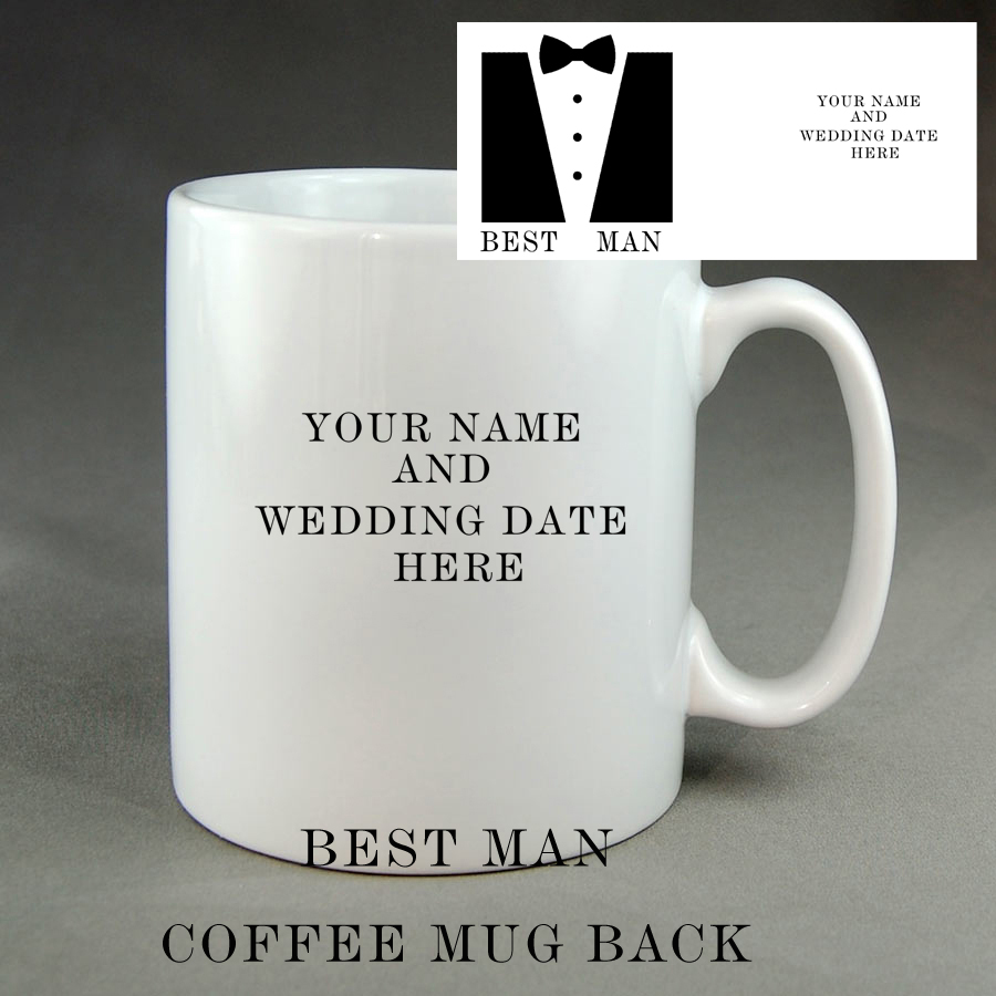 Wedding Coffee Mugs - Coffee Drinker