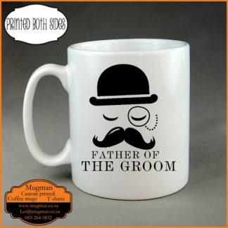 Father of the groom custom coffee mug