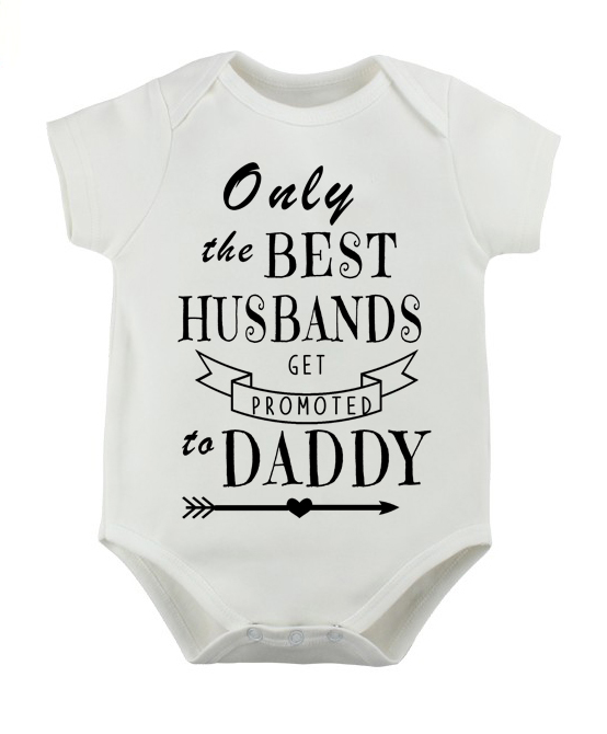 Only the best husbands get promoted to Daddy baby grow