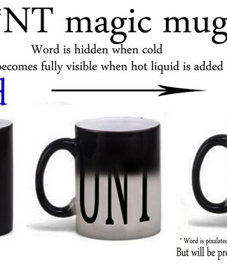 Cunt colour changing magic mug