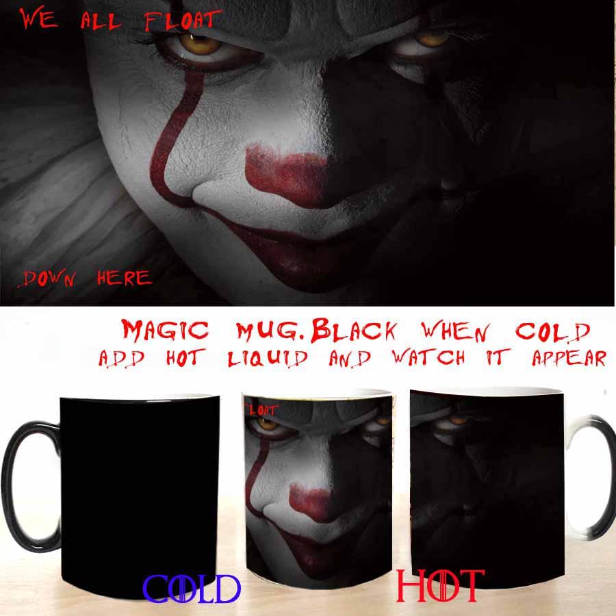 We all float down here magic coffee mug