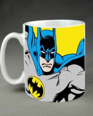 Batman custom printed coffee mug