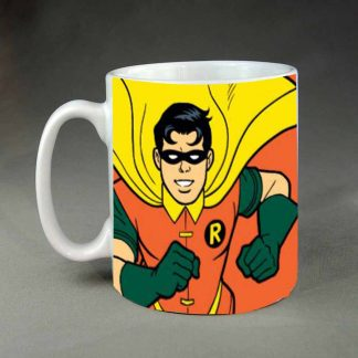 Robin custom printed coffee mug