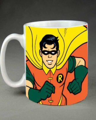 Robin custom printed coffee mug