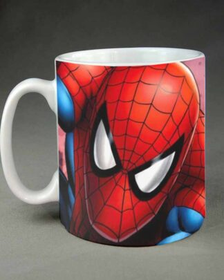 Spiderman custom coffee mug
