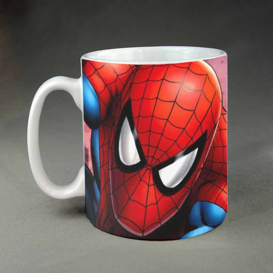 Spiderman custom coffee mug