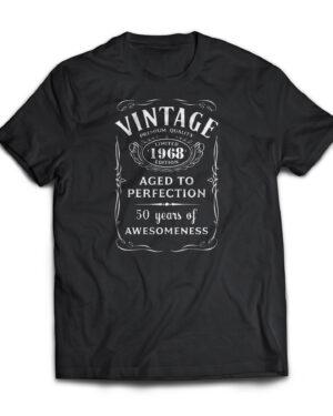 Life begins at 50 Cotton T-shirt, vintage 1967