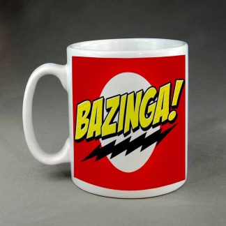 Bazinga custom printed coffee mug