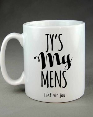 Jy's my mens coffee mug