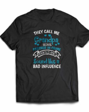 They call me Grandpa Cotton T-shirt