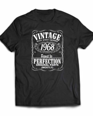 Vintage 1968 Aged to perfection 50th birthday cotton T-Shirt