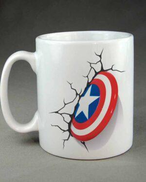 Capt America Super Hero Custom coffee mug