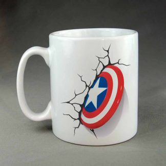Capt America Super Hero Custom coffee mug