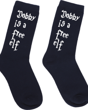 Harry Potter Dobby is a free Elf socks
