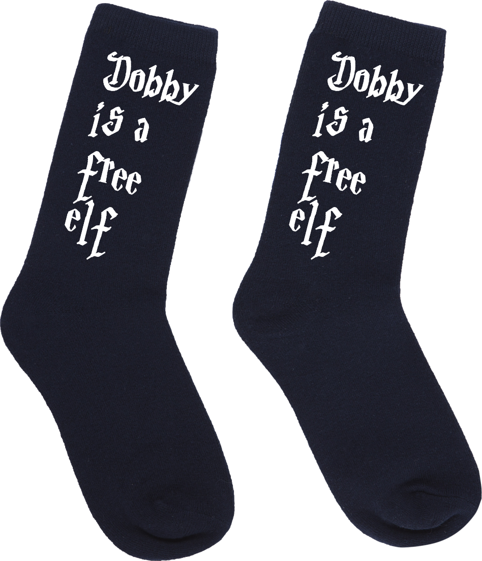 Harry Potter Dobby is a free Elf socks