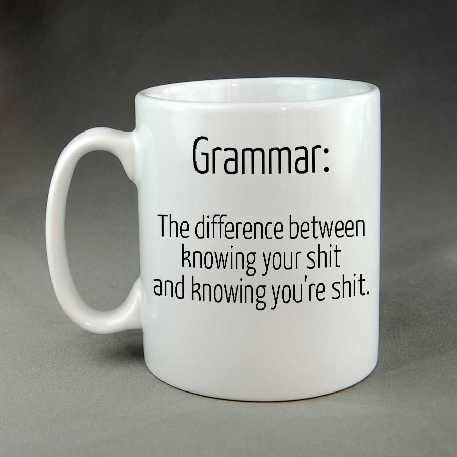 grammar the difference