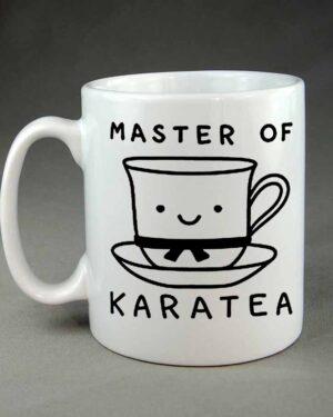 Master of Karatea custom printed coffee mug