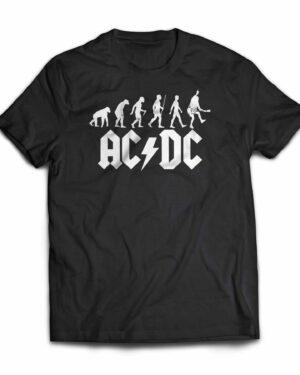 ACDC evolution of rock Cotton T-shirt