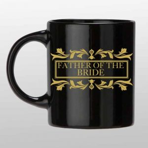 Father of the Bride custom coffee mug