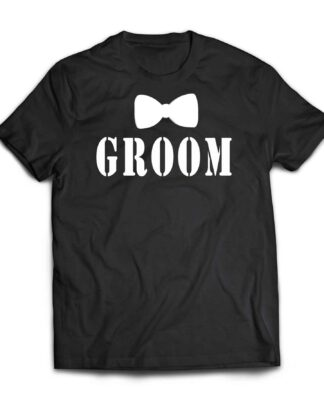 Groom 100% cotton wedding T-Shirt