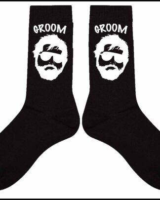 Groom Wolfpack Cotton Socks