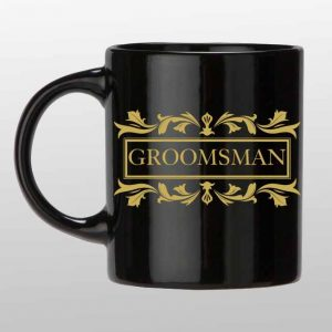 Groomsman custom coffee mug