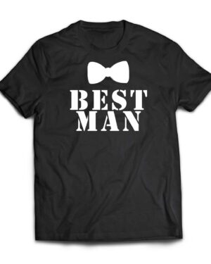 Best man 100%cotton Wedding T-shirt