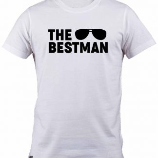 Aviator sunglasses The Best man white cotton T-shirt