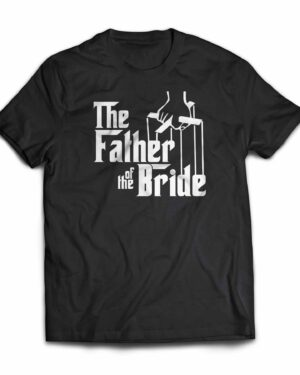 Father of the Bride 100% Godfather T-shirt