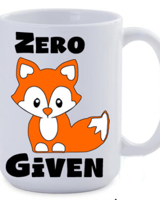 Zero fox given 450ml Jumbo coffee mug
