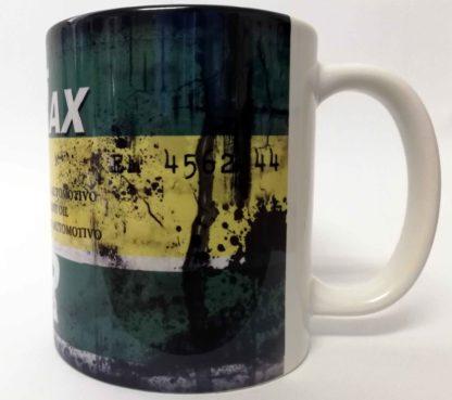 Messy oil can Coffee mug Lubrax White
