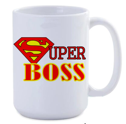 Super boss jumbo 450ml coffee mug