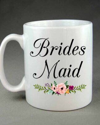 Wedding mug Brides maid