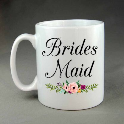 Wedding mug Brides maid
