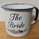 Personalised and custom printed Enamel tin mug