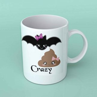Batshit crazy coffee mug