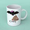 Batshit crazy coffee mug